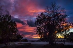 Закат в Алупке