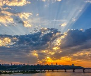 Kiev sunsets