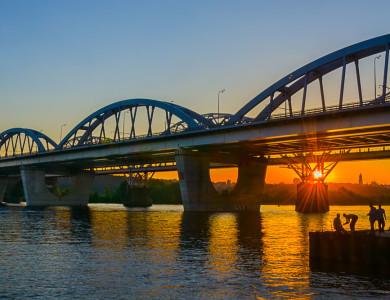 Киев, летний закат