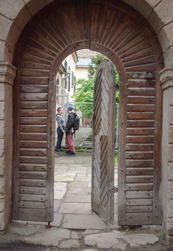 ЛЬвов. Двор Армянской церкви