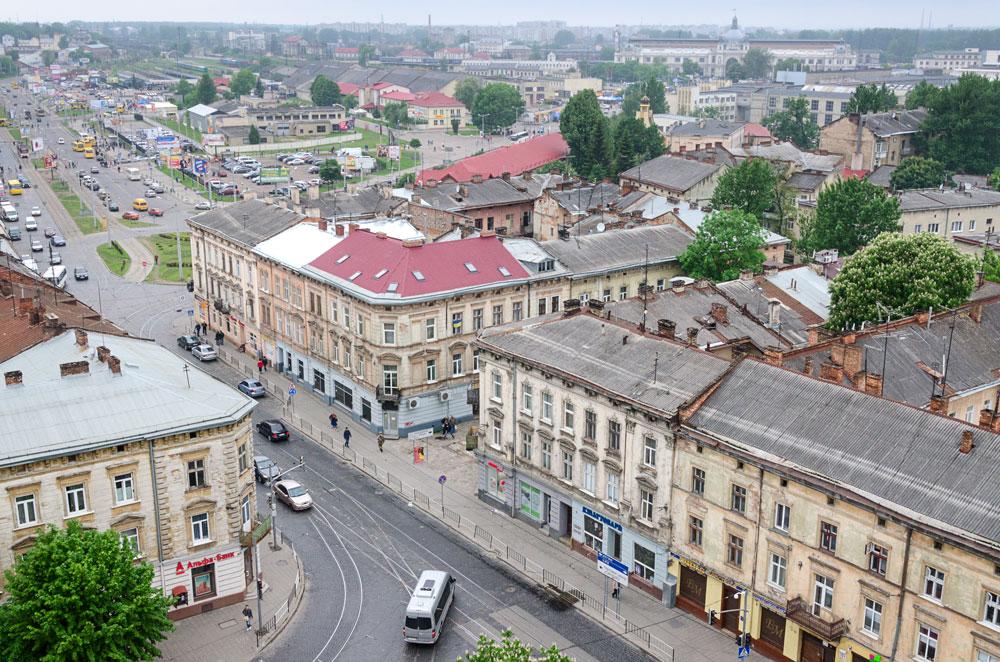 Львов. Вид с собора св.Эльжбеты